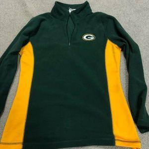 Packers quarter zip